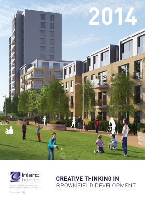 Inland Homes Plc annual report 2014