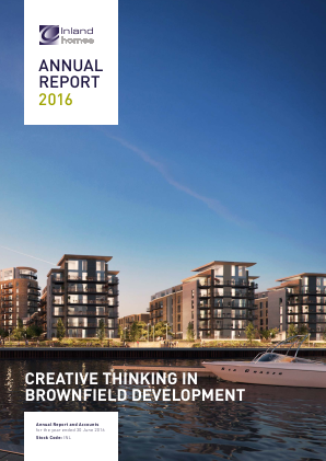 Inland Homes Plc annual report 2016