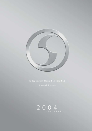 Independent News & Media annual report 2004