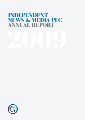 Independent News & Media annual report 2009