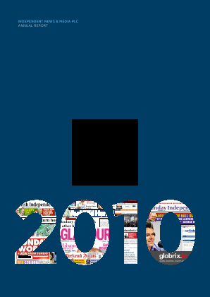 Independent News & Media annual report 2012