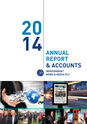 Independent News & Media annual report 2014