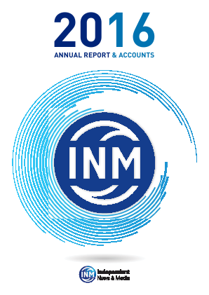 Independent News & Media annual report 2016