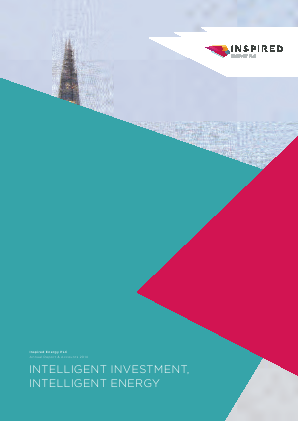 Inspired Energy Plc annual report 2014