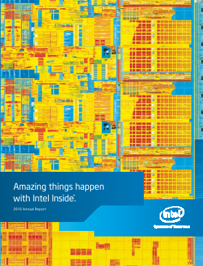 Intel annual report 2010