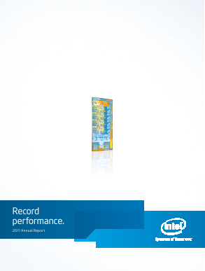 Intel Corporation annual report 2011