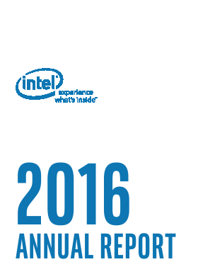 Intel annual report 2016