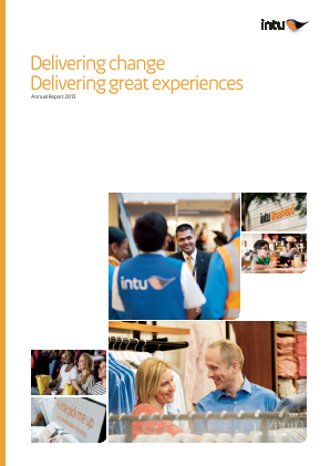 Intu Properties Plc annual report 2013