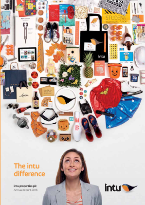 Intu Properties Plc annual report 2016