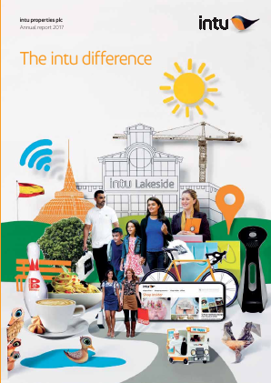 Intu Properties Plc annual report 2017