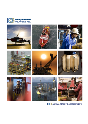 Independent Oil & Gas Plc annual report 2014