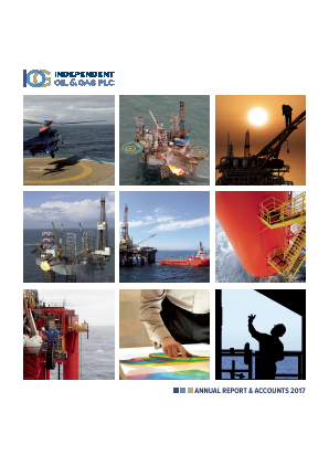 Independent Oil & Gas Plc annual report 2017