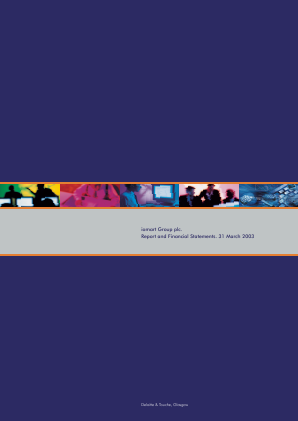 Iomart Group annual report 2003