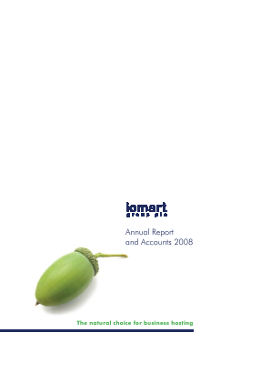 Iomart Group annual report 2008