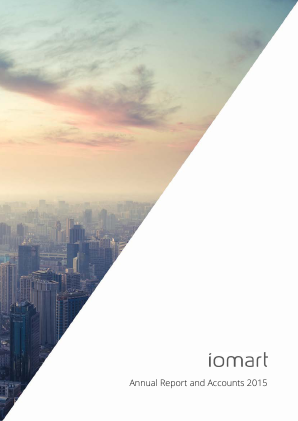 Iomart Group annual report 2015