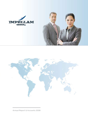 Impellam Group Plc annual report 2008