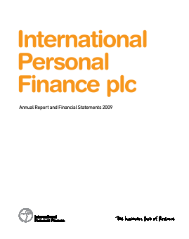 International Personal Finance Plc annual report 2009