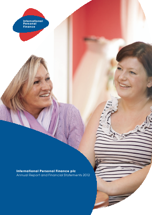 International Personal Finance Plc annual report 2012