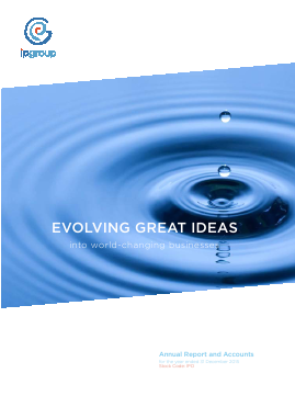IP Group annual report 2015