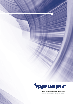 PCI-PAL (previously Ipplus) annual report 2009