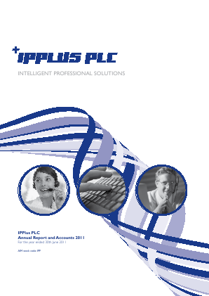 PCI-PAL (previously Ipplus) annual report 2011