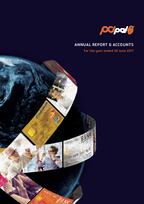 PCI-PAL (previously Ipplus) annual report 2017