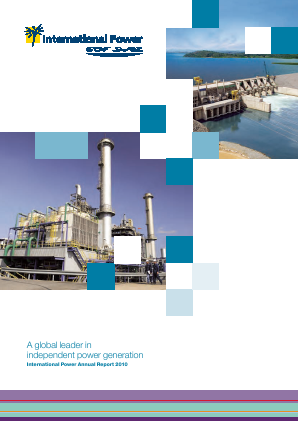 International Power annual report 2010