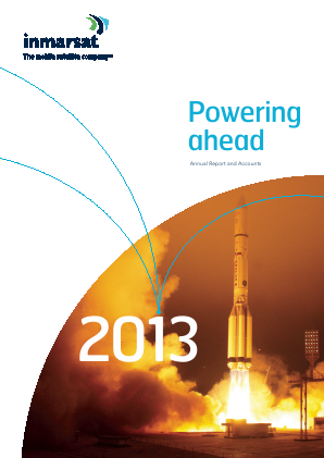Inmarsat annual report 2013