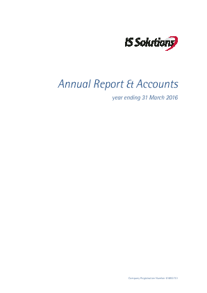 D4T4 Solutions (previously IS Solutions) annual report 2016