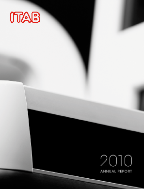 ITAB Shop Concept annual report 2010
