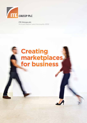 ITE Group annual report 2012