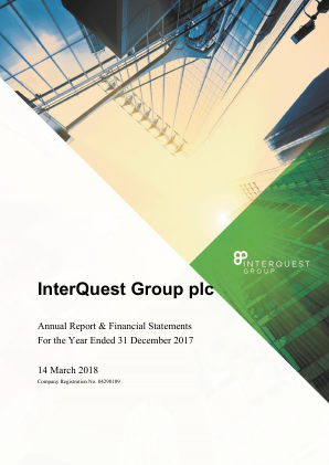 Interquest Group annual report 2017