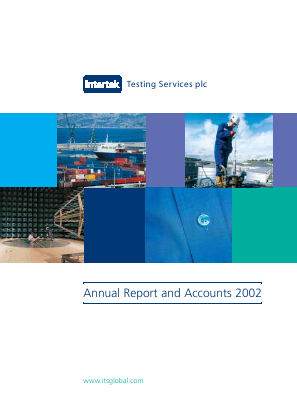 Intertek Group annual report 2002