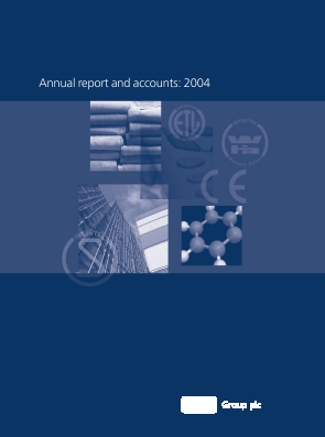 Intertek Group annual report 2004