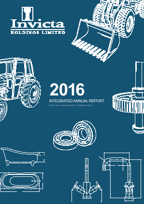 Invicta Holdings annual report 2016