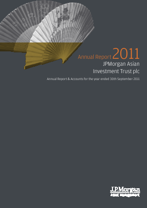 JP Morgan Asian Investment Trust annual report 2011