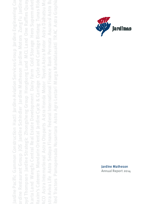 Jardine Matheson Holdings annual report 2014