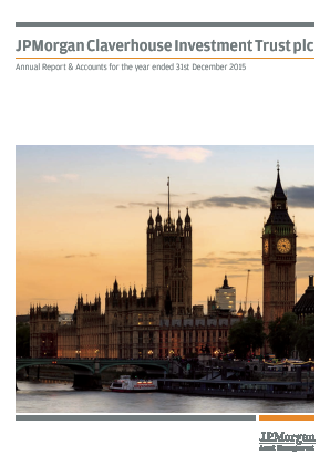 JP Morgan Claverhouse Investment Trust Plc annual report 2015