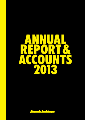 JD Sports Fashion Plc annual report 2013