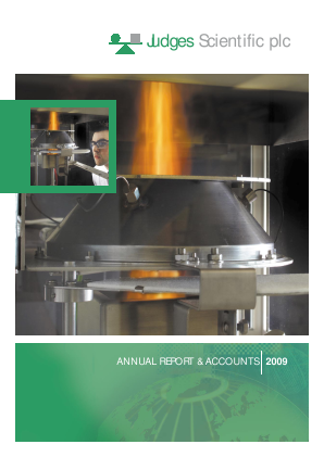 Judges Scientific Plc annual report 2009