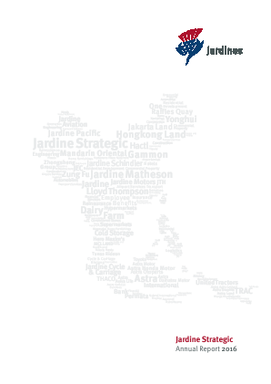 Jardine Strategic Holdings annual report 2016