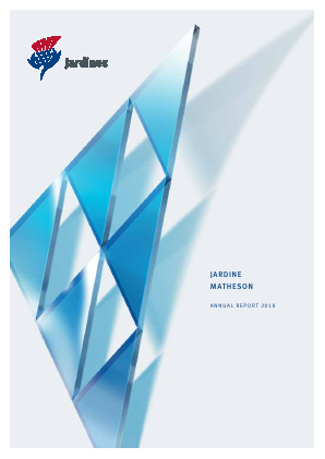 Jardine Strategic Holdings annual report 2018