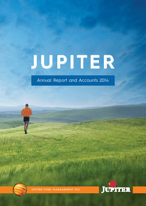Jupiter Dividend & Growth Trust annual report 2014