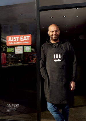Just Eat Plc annual report 2015