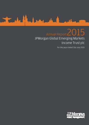JP Morgan Global Emerging Markets Investment Trust Plc annual report 2015