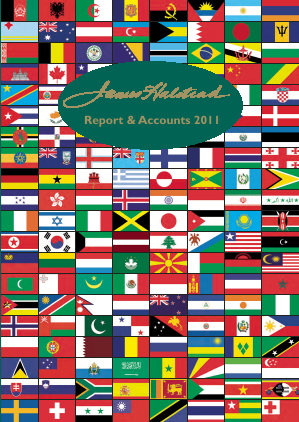 James Halstead annual report 2011