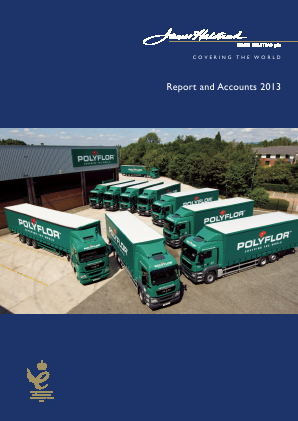 James Halstead annual report 2013