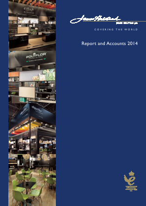 James Halstead annual report 2014