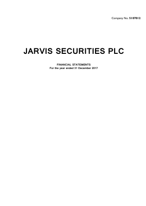 Jarvis Securities annual report 2017