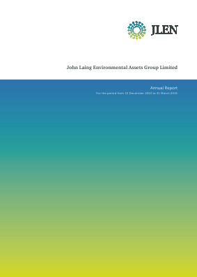 John Laing Environmental Asset Group annual report 2015